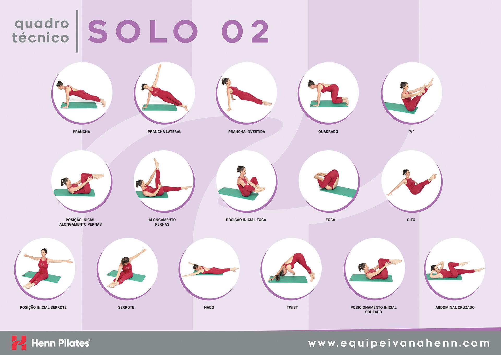 Quadro Técnico Pilates Solo 02